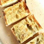 Жареный хлеб по-итальянски на гриле