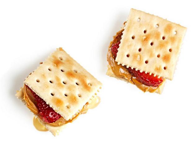Сэндвичи из крекеров