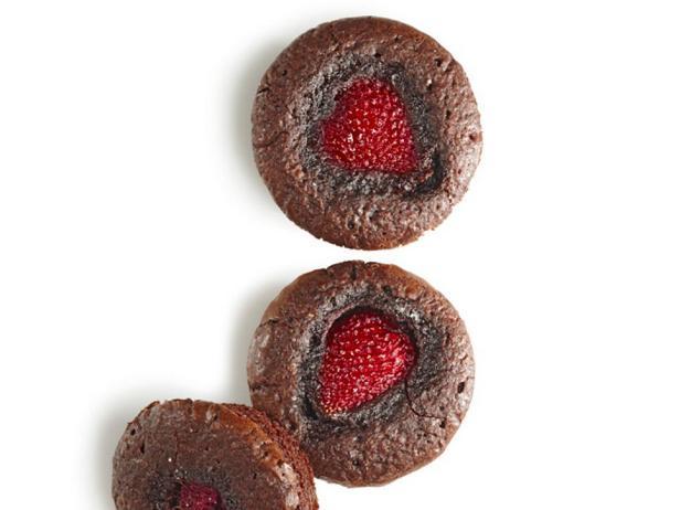 Брауни с ягодами