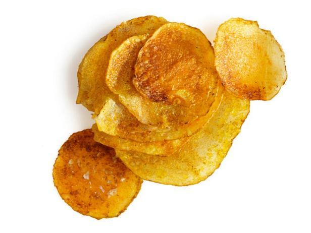 Картофельные чипсы с карри