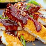 Жареная курица в панировке по-китайски