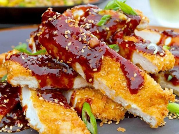 Фото Жареная курица в панировке по-китайски