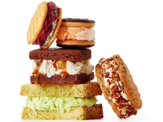 Фото 50 рецептов сэндвичей с мороженым