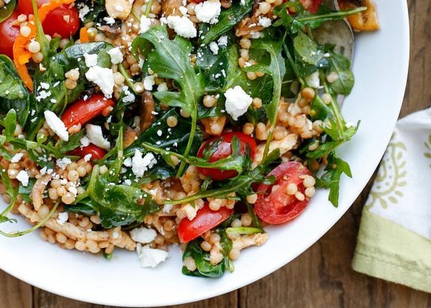 Фото Летний салат с птитимом