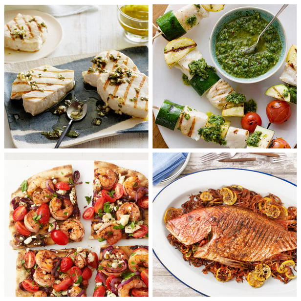 Фото Летние рецепты с морепродуктами