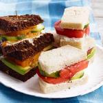 Чайные сэндвичи с помидорами