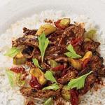 Стир-фрай из говядины по-сычуаньски