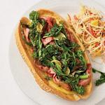Саб-сэндвичи с ростбифом и рапини