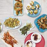 50 рецептов гарниров и десертов на гриле