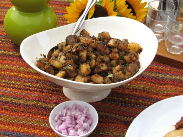 Фото Острая жареная картошка