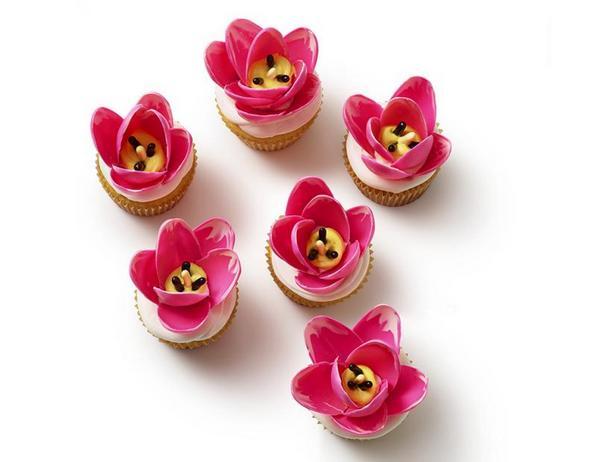 Фото Капкейки «Тюльпаны»