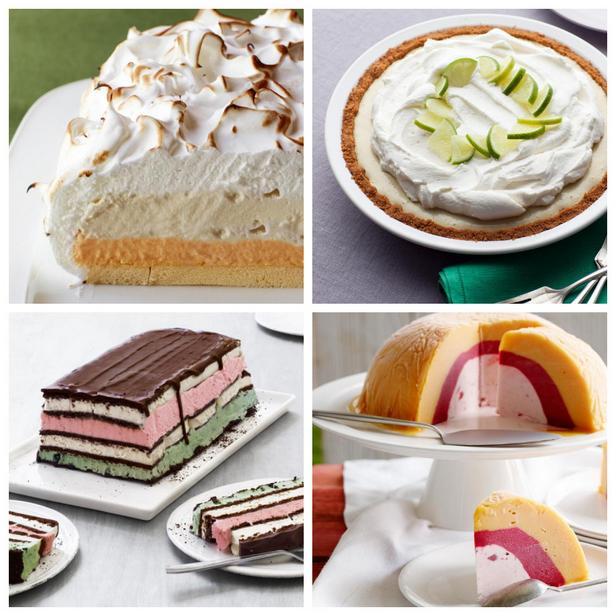 Фото Торты и пироги с мороженым