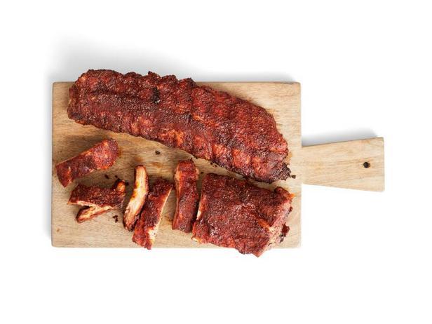 Фото Свиные рёбрышки барбекю с ароматной корочкой
