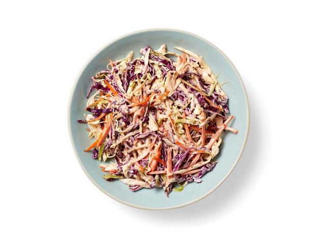 Фото Трёхцветный салат коул-слоу