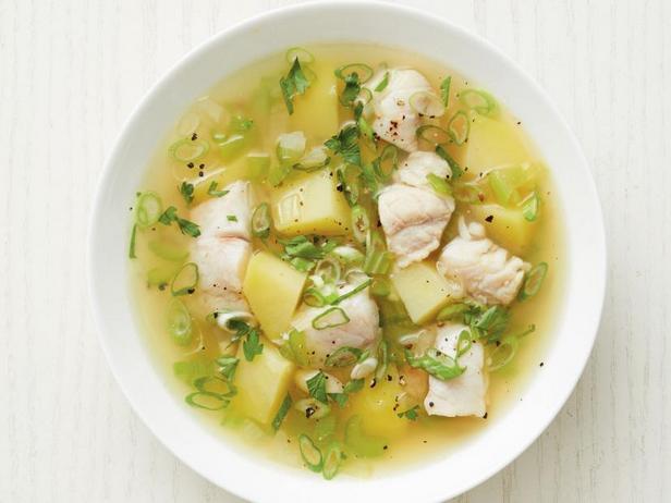 Фото Острый рыбный суп по-карибски