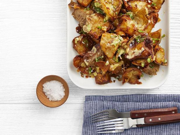 Фото Дважды обжаренный картофель с румяной корочкой