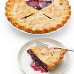 Пирог из бойзеновой ягоды
