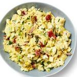 Кремовый картофельный салат с яйцами