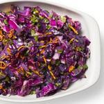 Тёплый салат «Коул-слоу» из жареной капусты на гриле