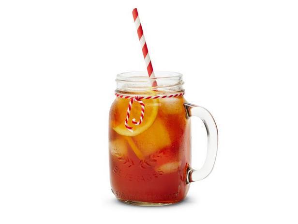 Фото Алкогольный холодный чай с лимоном