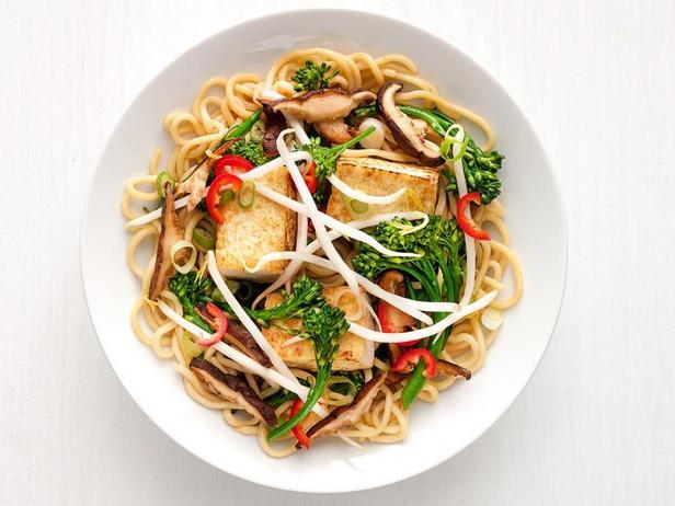 Фото Китайская лапша с тофу