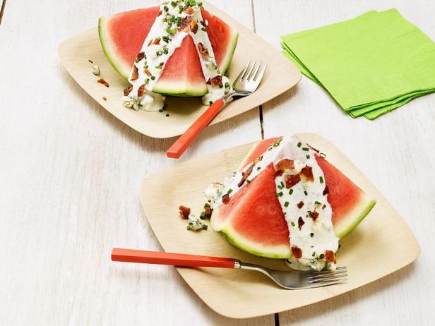 Фото Летний салат-закуска «Арбузная долька»