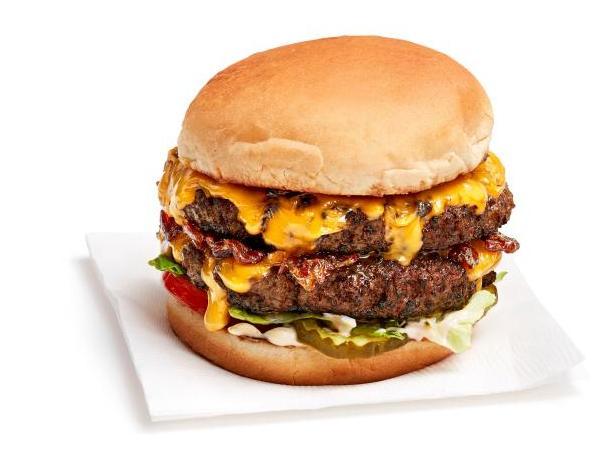 Фото Чизбургер с двойной котлетой
