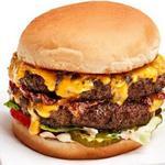 Чизбургер с двойной котлетой