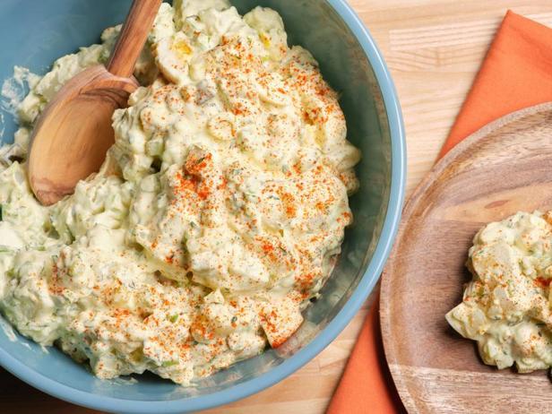 Фото Лучший американский картофельный салат