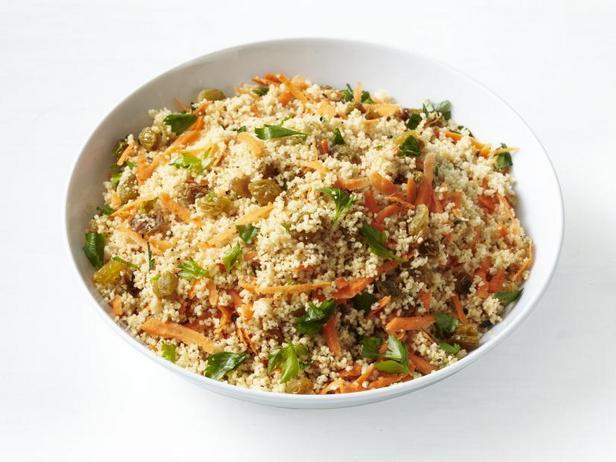 Фото Кускус с морковью и изюмом