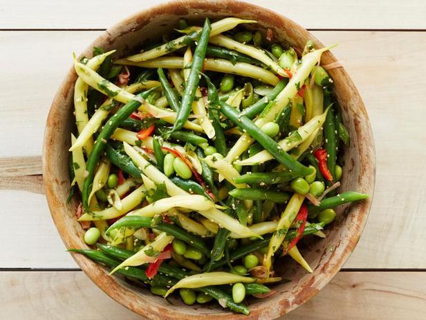 Фото Азиатский салат с бобовыми