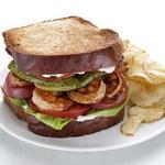 БЛТ сэндвич с креветками
