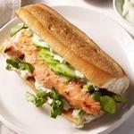 Азиатские сэндвичи с лососем