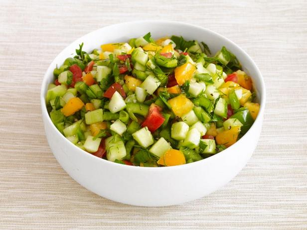 Фото Летний салат по-средиземноморски