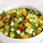 Летний салат по-средиземноморски
