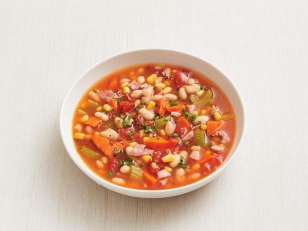 Фото Суп из белой фасоли в медленноварке