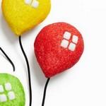 Капкейки «Воздушные шары»