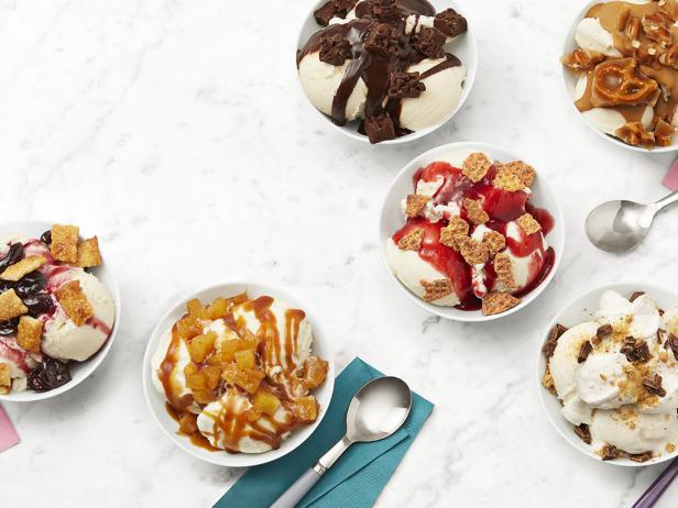 Фото 50 рецептов топпингов для мороженого