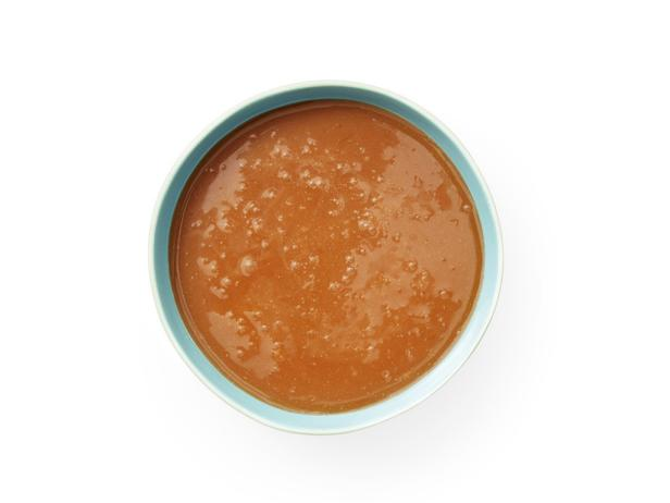 34. Карамельный соус с кокосом и лаймом.