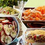 Рецепты гарниров и салатов для пикника