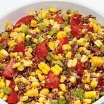 Салат из киноа с кукурузой