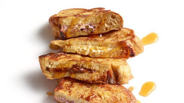 Фото Французские тосты с начинкой: варианты приготовления