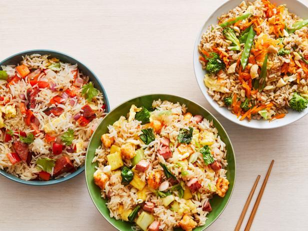 Фото Жареный рис: варианты приготовления