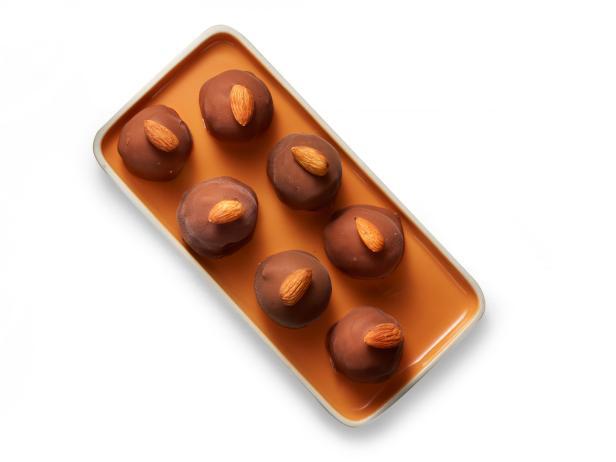 41. Шоколадно-миндальные конфеты