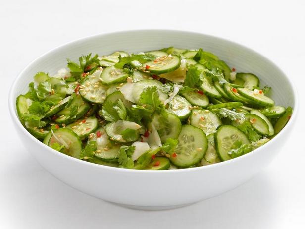 Фото Азиатский огуречный салат