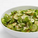 Азиатский огуречный салат