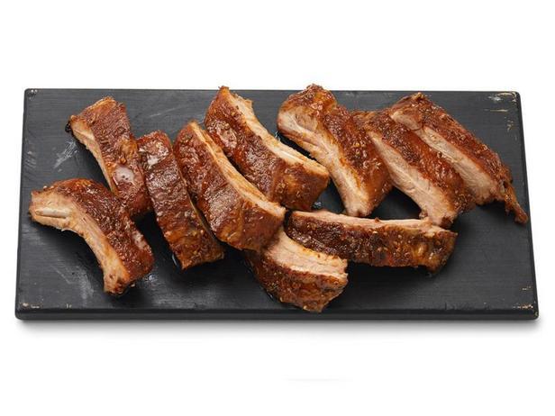 Фото Пряные свиные рёбра в медовой глазури