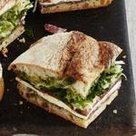 Маринованный сэндвич с салуми