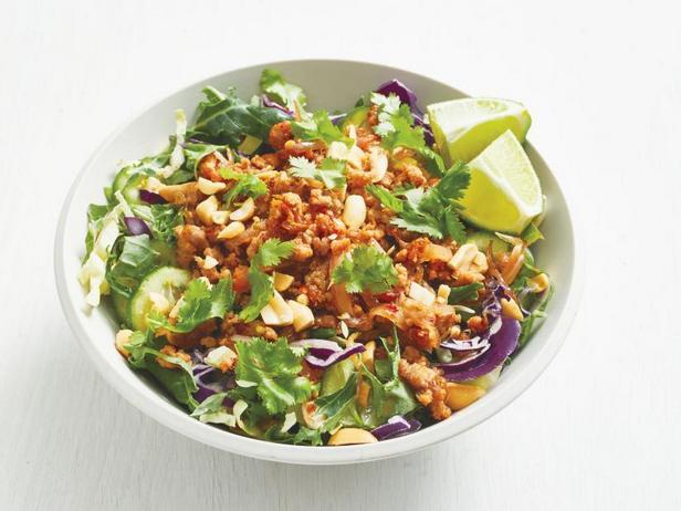 Фото Азиатский салат со свининой