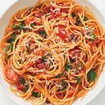 Спагетти алла-водка в одной кастрюле